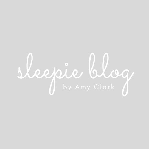 sleepie blog by amy clark